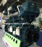 1500HP 1000rpm de Mariene Motor van Marino van de Dieselmotor Yuchai voor Boot