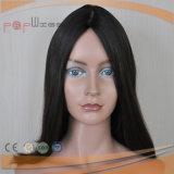 Beste verkaufende Silk Spitzenperücke-Art-Jungfrau-Haar unverarbeitete Sheitel Perücken 100%