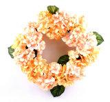 Flor viva artificial de la guirnalda de madera verdadera del Hydrangea para la decoración de cuaesquiera lugares públicos