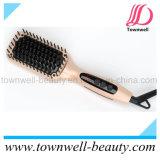 Ferro ionico della spazzola di capelli di Mch del rivestimento di ceramica del Tourmaline