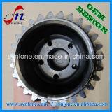 合金鋼鉄CNCの機械化の車輪