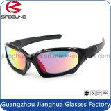 Vidros Running de competência de ciclagem Biking Unbreakable protetores ao ar livre feitos sob encomenda do olho da impressão UV400 do logotipo dos óculos de sol dos esportes
