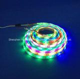 RGB IP65フルカラーSMD5050チップ60LEDs 18W DC24V LEDストリップ