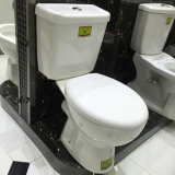 Zweiteilige Toilette Badezimmer des heißen Verkaufs-Entwurfs zum europäischen Markt