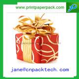 주문 아름다운 리본 종이 선물 상자 포장 상자