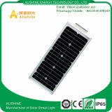 25W neuf tout dans un réverbère solaire de lampe de DEL avec le détecteur de PIR