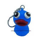 Olho engraçado estalando o brinquedo do PVC Keychain