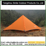 人の二レベルのZipperd 1つの移動可能なRmountainのキャンプテント