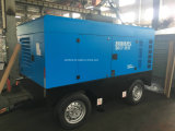 Compresor de aire remolcable del tornillo del motor diesel de KAISHAN BKCY-15/13 Cummins