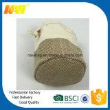 Baumwoll-und Jutefaserdrawstring-Geschenk-Beutel