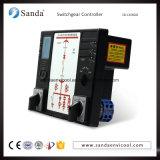 Bildschirmanzeige Schaltanlage-Controller Digital-LCD für Hochspannungsschrank