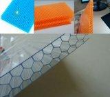 紫外線コーティングGE Lexanのポリカーボネートの蜜蜂の巣シート