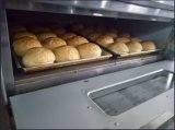 Trois à une seule couche - Four commercial au goût âpre de boulangerie de plateau de pizza d'oeufs électriques de pain