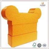 Decorativa de papel de lujo Mickey Shipe caja de regalo