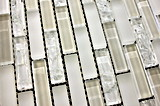 Preiswerter Preis-Polierkristallglas-Mosaik-Fliese