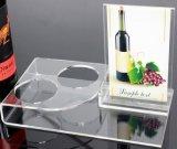 Houder van de Fles van de Wijn van de douane de Acryl