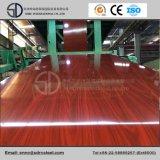 Деревянное зерно PPGI Prepainted стальная катушка, стальной лист
