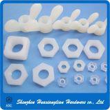 Tipos diferentes prendedores plásticos de nylon da isolação