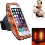 Venda al por mayor el brazal que destella colorido de Lycra LED que destella para el teléfono móvil