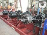 40 voeten 2 de Semi Aanhangwagen van de Container van het Skelet van Assen