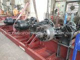40 Feet 2 Eixos Skeleton Container Van Semitrailer