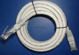 Preiswertes ETL UTP CAT6 LAN-Kabelnetzwerk-Kabel mit Plattfisch-Durchlauf