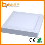 Techo cuadrado de interior Downlight de la luz del panel de la superficie LED de AC85-265V 18W 225*225*35m m
