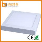 Soffitto quadrato dell'interno Downlight dell'indicatore luminoso di comitato della superficie LED di AC85-265V 18W 225*225*35mm