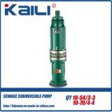 bomba de mina (de vários estágios) submergível Oil-Filled da bomba da agua potável da bomba de 6Stage QY