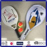 Raqueta de tenis durable de la paleta de la playa de la alta calidad de Wintop