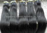 Curlabe/Dyeableの人間の毛髪Prebondedは人間の毛髪の拡張を私ひっくり返す