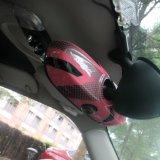 Типа юниона джек 2014 самых последних миниых ABS бондаря материальная UV защищенная крышка зеркала розового нутряная для миниого бондаря F56 (1 PCS/Set)