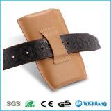Мешок случая кобуры зажима кожаный пояса на iPhone 6 7 добавочных