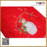 T-003クリスマスのギフトの表面タオルの100%年の綿