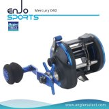 Mercury Plastic Body / 3 + 1 Bb / EVA Handle direito Fishing Trolling Reel Fishing Tackle (Mercury 040)