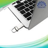 Lecteur flash imperméable à l'eau 2g 4G 8g 16g 32g en métal USB2.0