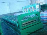 Hydraulische Motor-PLC-Steuerung glasierte die Fliese-Rolle, die Maschine bildet