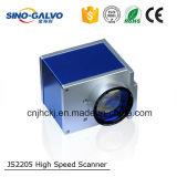 De Scanner van Galvo van Js2205 voor de Laser die van de Vezel met Software Ezcad merken
