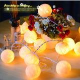 Оптовый свет шнура шарика хлопка СИД высокого качества для украшения свадебного банкета рождества