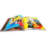 Impression magnétique de revue de mode de livre de papier d'art de multicolores