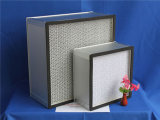 Фильтр сепаратора HEPA бумаги стеклоткани H13 для чистой комнаты с алюминием