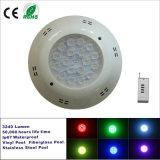 lámpara impermeable subacuática de la piscina de 54W LED LED
