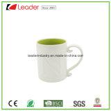 La tazza di ceramica di esposizione ufficiale con personalizza Marchio-Viola