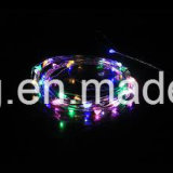 가정 훈장 휴대용 LED 구리 철사 USB 끈 빛