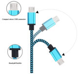 El 1m trenzado de nylon cable del USB del relámpago de 8 Pin para el iPhone
