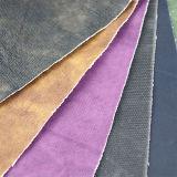 Modernes fünf Farben gesponnenes Belüftung-synthetisches Leder für Möbel