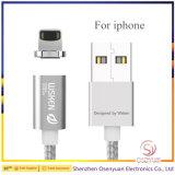 Valvola magnetica del metallo di Wsken due di modo per la spina del cavo di dati del USB del telefono per Samsung