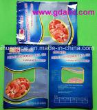 Unterer flacher Vakuumverpacken- der Lebensmittelplastikbeutel