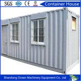 Casa modular confortável de vida humanizada do recipiente do projeto dos painéis pré-fabricados de construção e de sanduíche de aço