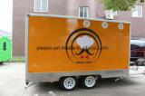 Caravane mobile faite sur commande de nourriture de Yieson